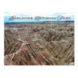 Badlands parque nacional, Dakota del Sur Postal