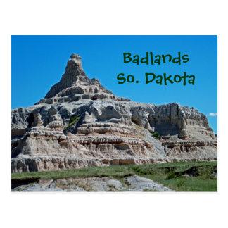 Badlands parque nacional, Dakota del Sur Tarjetas Postales