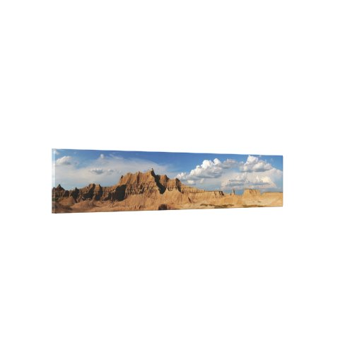 Badlands Photograph Stretched Canvas Prints