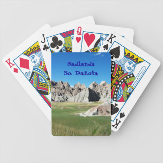 Badlands Bicycle Playing Cards