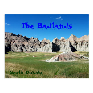 Badlands Post Card