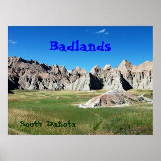 Badlands Print