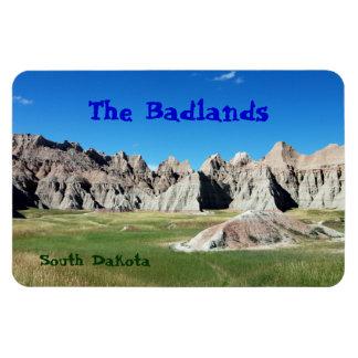 Badlands Rectangular Photo Magnet