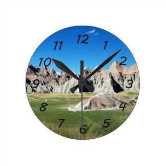 Badlands Round Clock