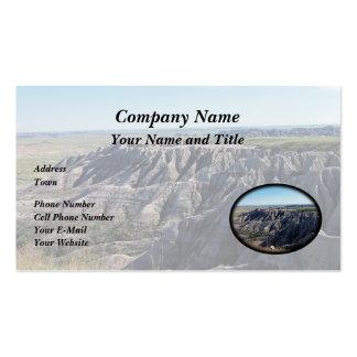Badlands, South Dakota Business Card