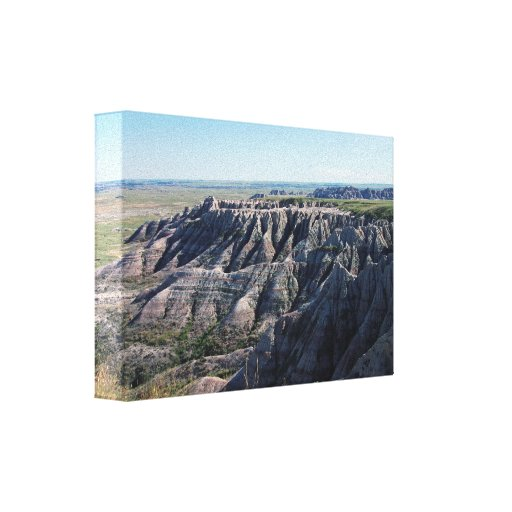 Badlands South Dakota Canvas Print
