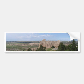 Badlands South Dakota Car Bumper Sticker