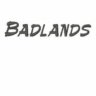 Badlands South Dakota Embroidered Hoodie