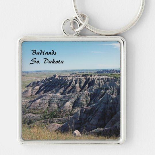 Badlands, South Dakota Keychain