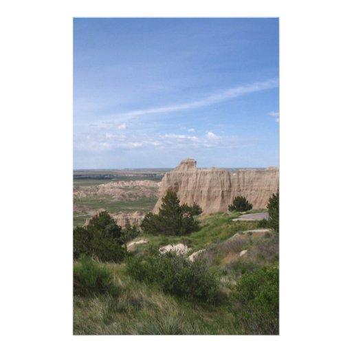 Badlands South Dakota Personalized Stationery