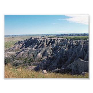 Badlands South Dakota Photographic Print