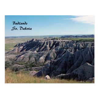 Badlands, South Dakota Postcards