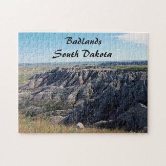 Badlands, South Dakota Jigsaw Puzzle