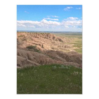Badlands South Dakota Shadow and Light Card