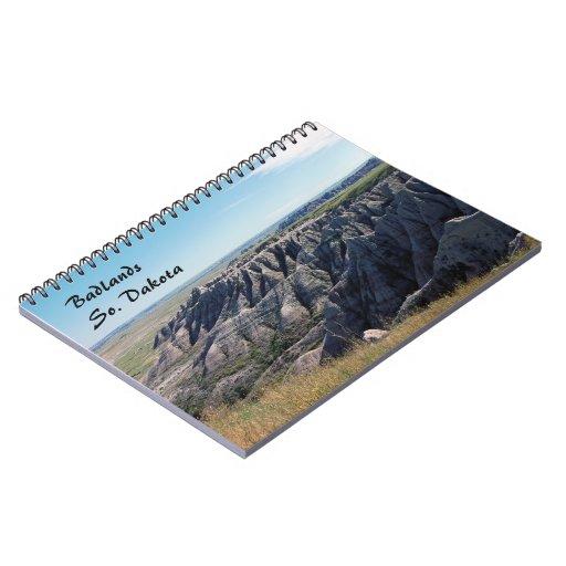 Badlands, South Dakota Spiral Notebook
