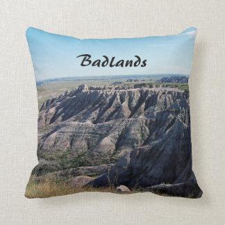 Badlands, South Dakota Throw Pillow