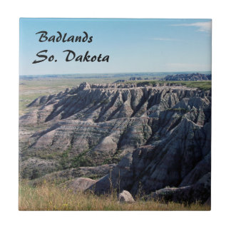 Badlands, South Dakota Ceramic Tiles