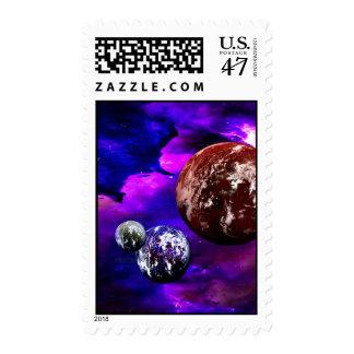 Badlands Stamp