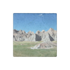 Badlands Stone Magnet at Zazzle