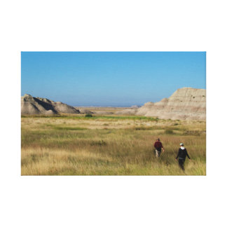 Badlands Wilderness wrapped canvas