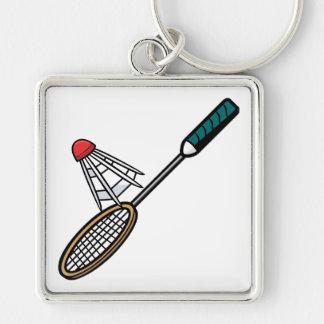 Badminton 4 keychain