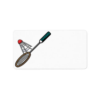 Badminton 4 label