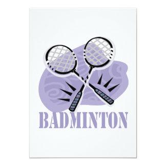Badminton 5 card