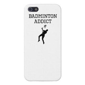 Badminton Addict iPhone 5/5S Cover