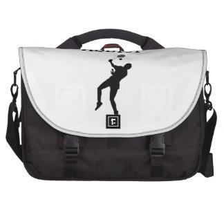 Badminton Addict Laptop Bags