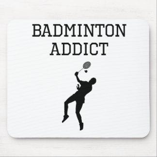 Badminton Addict Mousepads