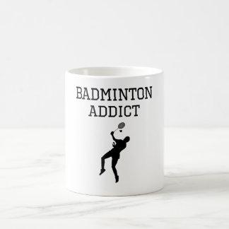 Badminton Addict Coffee Mugs