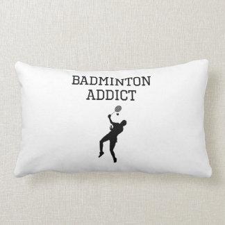 Badminton Addict Throw Pillows