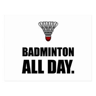 Badminton All Day Postcard