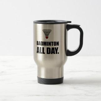 Badminton All Day Travel Mug