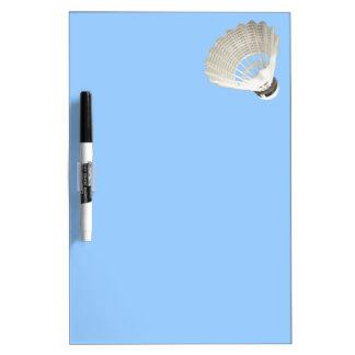 Badminton Birdie in the Air Note Board