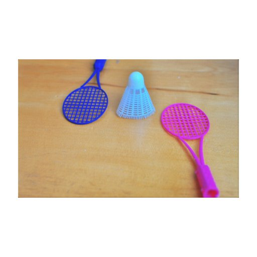 Badminton Stretched Canvas Prints