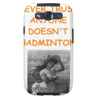 BADMINTON SAMSUNG GALAXY S3 COVERS