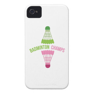 Badminton Champs Case-Mate iPhone 4 Case