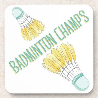 Badminton Champs Coasters