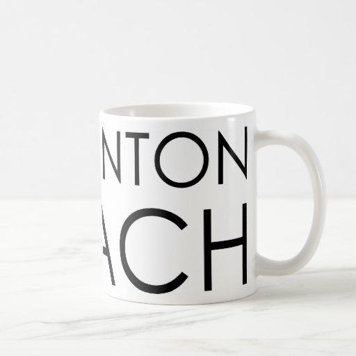 Badminton Coach Classic White Coffee Mug