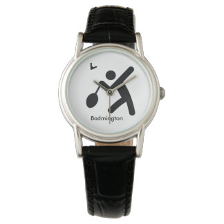 BADMINTON | cool sport icon Wrist Watch