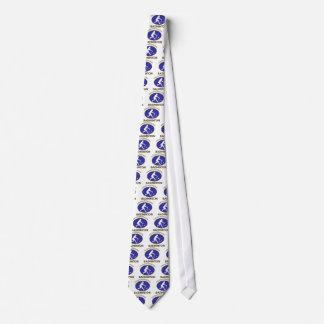 badminton design neck tie