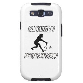 BADMINTON designs Galaxy S3 Cover