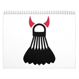 Badminton devil calendar
