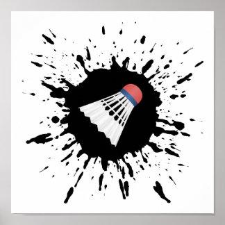 Badminton Explosion Poster