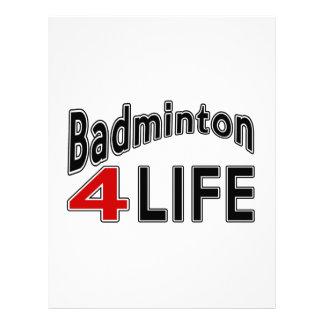 Badminton For Life Letterhead