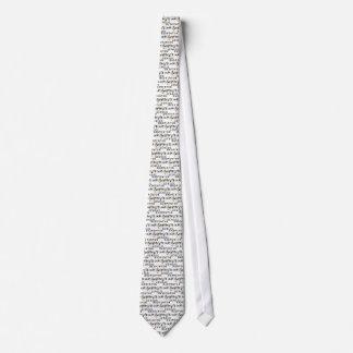 Badminton Genius Tie