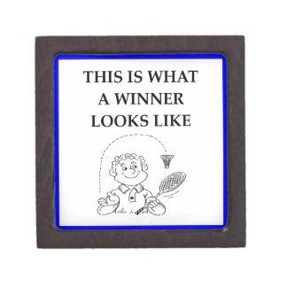 badminton gift box