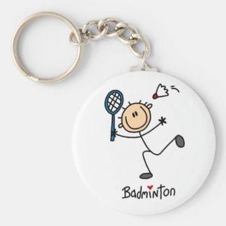 Badminton Gift Keychain