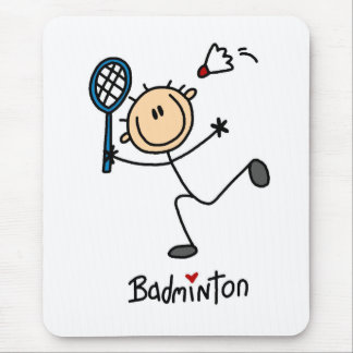 Badminton Gift Mouse Pad